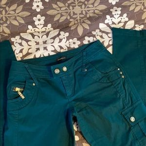 Fab Pair Cargo Straight/Skinny Jeans Style Pants